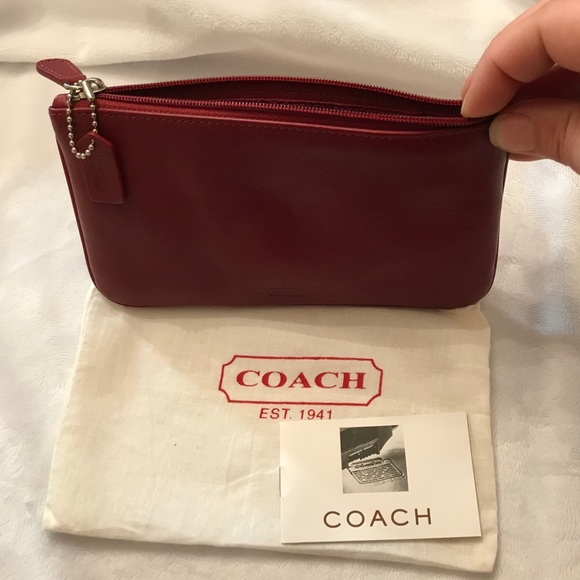 Coach Handbags - New Classic Coach Pouch - Makeup/Accessory
